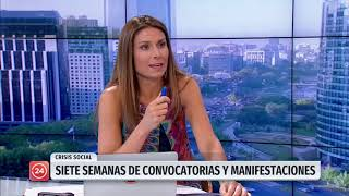 """Viera-Gallo por crisis social: """"Habían síntomas que hablaban de una demanda social insatisfecha"""""""