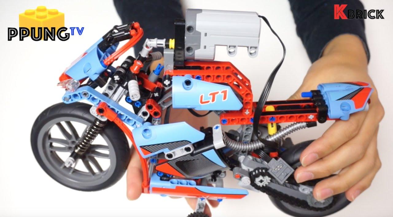 Lego Technic 42036 Rc Mod Video Instructions Street Motorcycle K