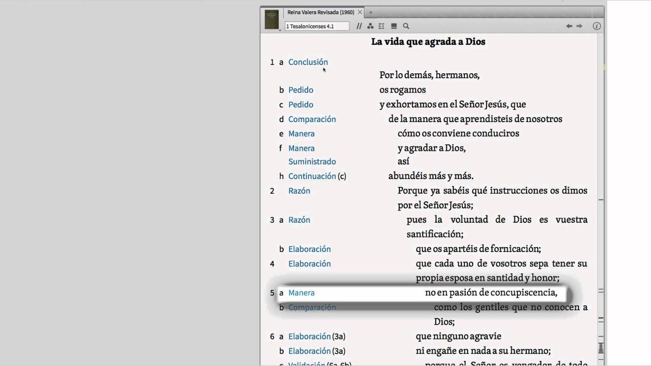 Logos 6 Español Bosquejos De Texto Bíblico