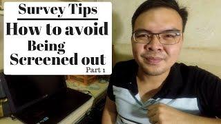 Survey Tips Part 1 for Filipinos - Bakit walang Survey na available? + other Tips