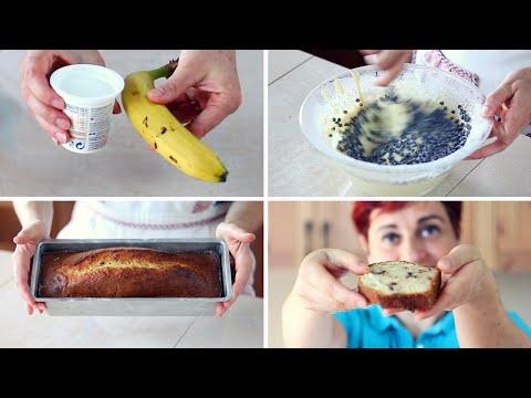 plumcake-yogurt-e-banana-ricetta-facile---banana-and-yogurt-plumcake-recipe
