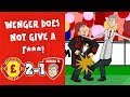 2-1! WENGER DOES NOT GIVE A F-🤬! (Man Utd vs Arsenal 2018 Parody Goals Highlights)
