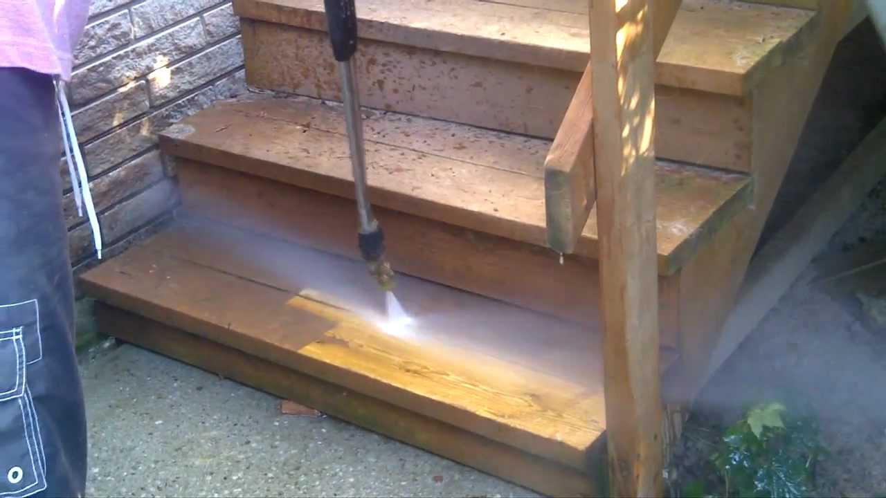 Power Washing The Stain Off My Deck Done Easy Gas
