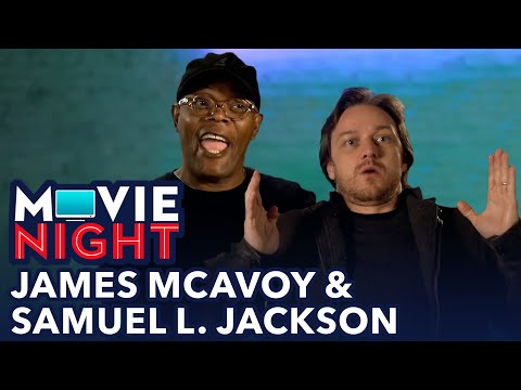 James McAvoy & Samuel L. Jackson Share Their Cinema Etiquette | MOVIE NIGHT