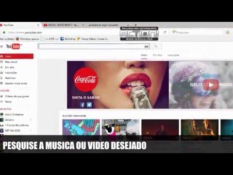 BAIXAR VIDEO DO YOUTUBE EM MP3 2016 - MELHOR SITE