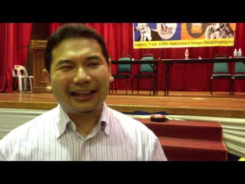 Rafizi Ramli's Interview On Overseas Voters 17.4.2013