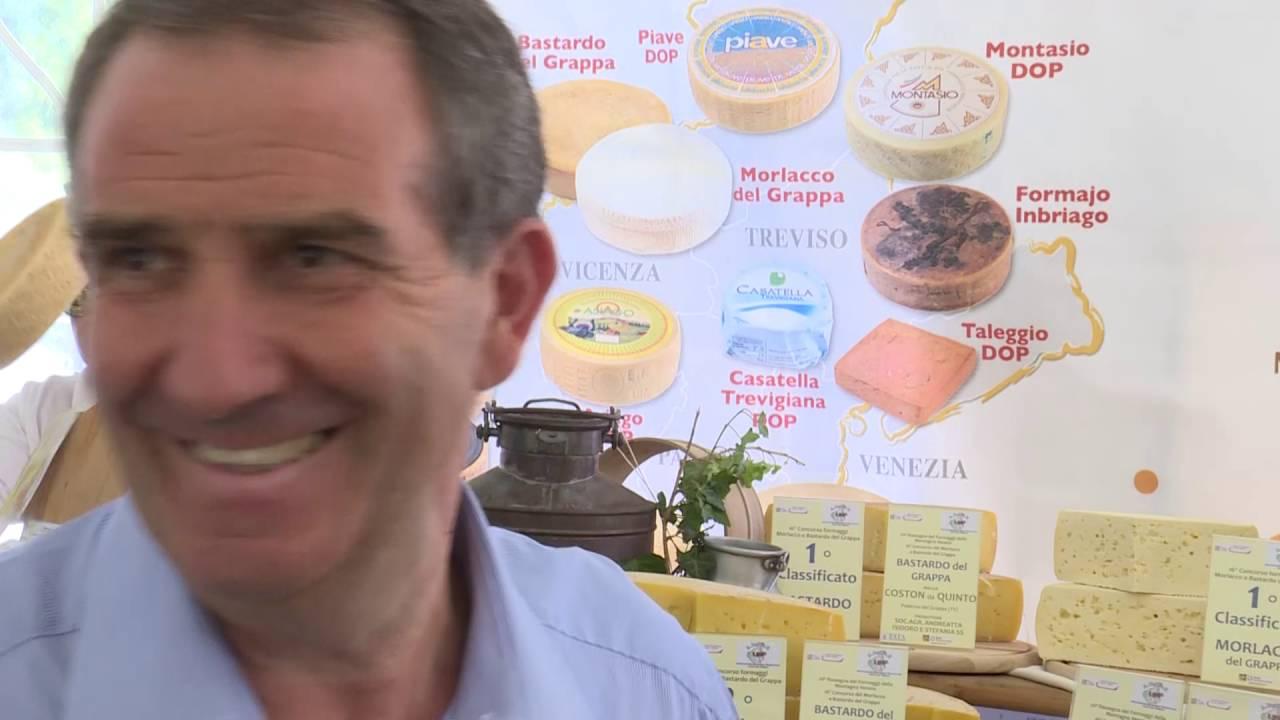 20esima rassegna dei formaggi morlacco e bastardo del grappa - youtube