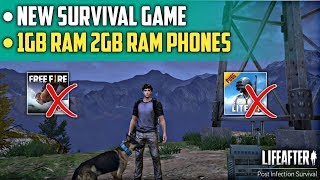 New Survival Game for 1gb and 2gb Ram Phones | LifeAfter Game Review