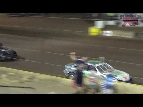 Salina Speedway 9-1-17 Sport Compact A Feature with Chase Davis #31DD Onboards