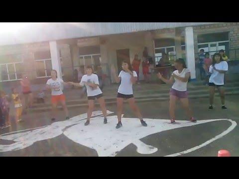 Флешмоб танец  Аябо, танец на последний звонок