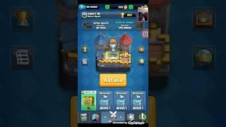 Jugando clash royale#9:jugando en la cuenta propia del canal