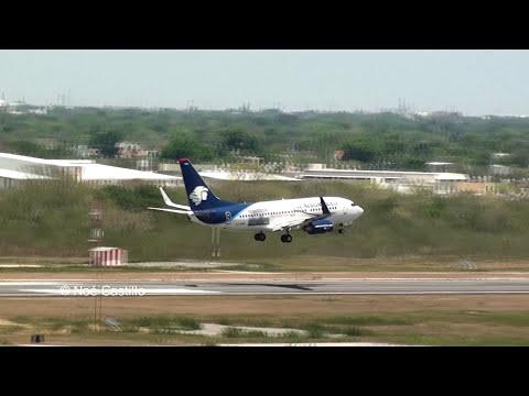 Aviones Aterrizando - Vista Desde Torre De Control Merida Mexico