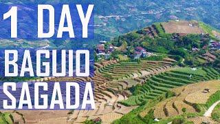 1 Day (Solo) MTB Ride - Baguio to Sagada -- Mountain Bike Adventure. Philippines