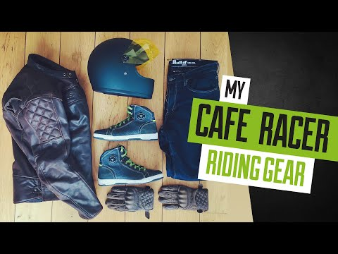My Cafe Race Riding Gear / Clothes