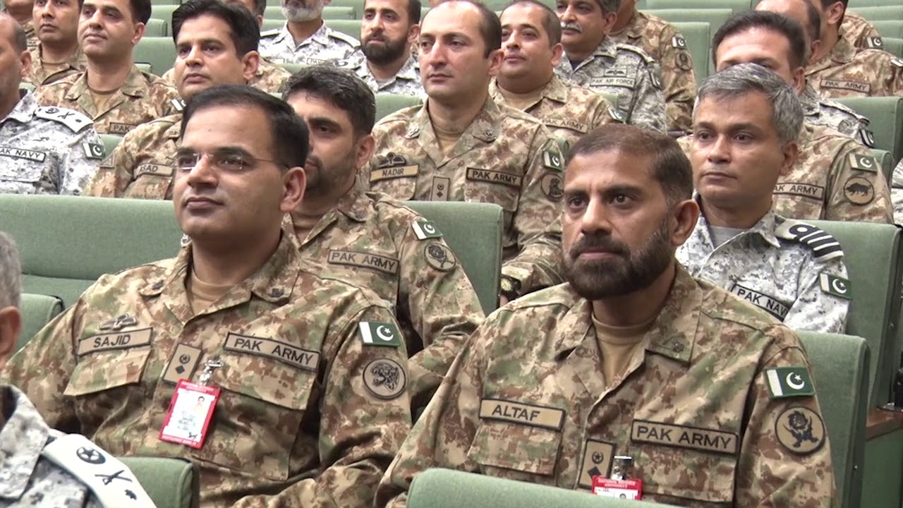 Press Release No 123/2019, COAS visited National Defence University-18 Jun  2019(ISPR Official Video)