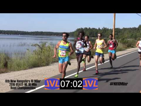 6th New Hampshire 10 Miler - Lead Vehicle Footage and Finish