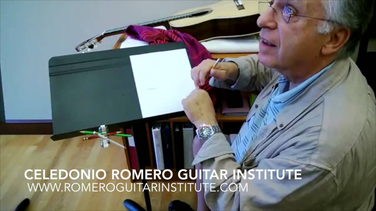 romero guitar institute pepe romero tremolo lesson oklahoma city university youtube. Black Bedroom Furniture Sets. Home Design Ideas