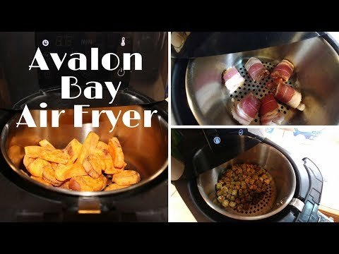 Avalon Bay AF25BSS  Air Fryer Review