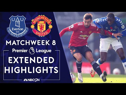 Everton v. Manchester United | PREMIER LEAGUE HIGHLIGHTS | 11/7/2020 | NBC Sports