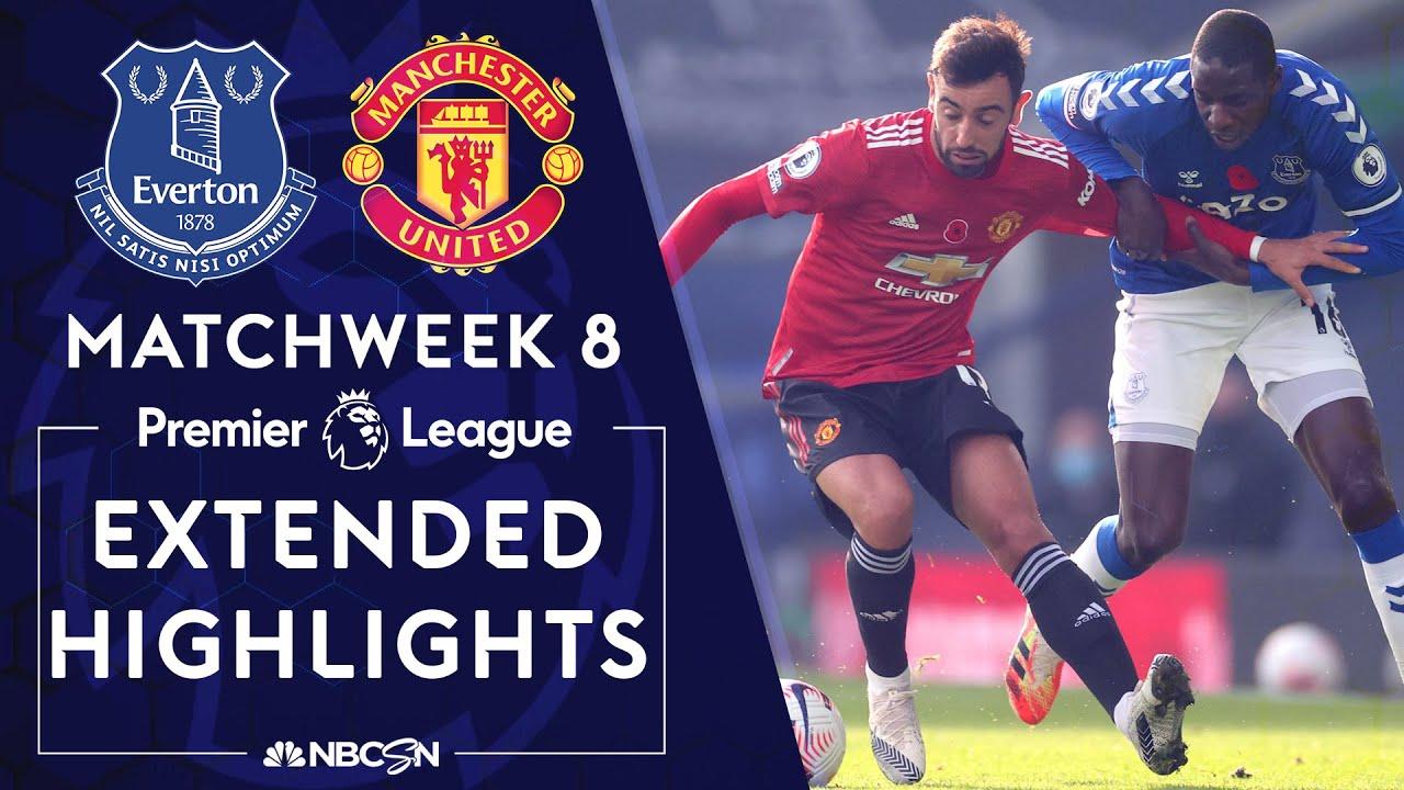Download Everton v. Manchester United | PREMIER LEAGUE HIGHLIGHTS | 11/7/2020 | NBC Sports