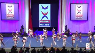 Team Chinese Taipei [Coed Premier] - 2015 ICU World Cheerleading Championships