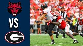 Week 3 2019 Arkansas State vs #3 Georgia Full Game Highlights 9/14/2019