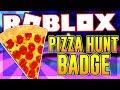 HOW TO GET THE PIZZA HUNTER BADGE IN ROBLOX SKATING RINK | Roblox