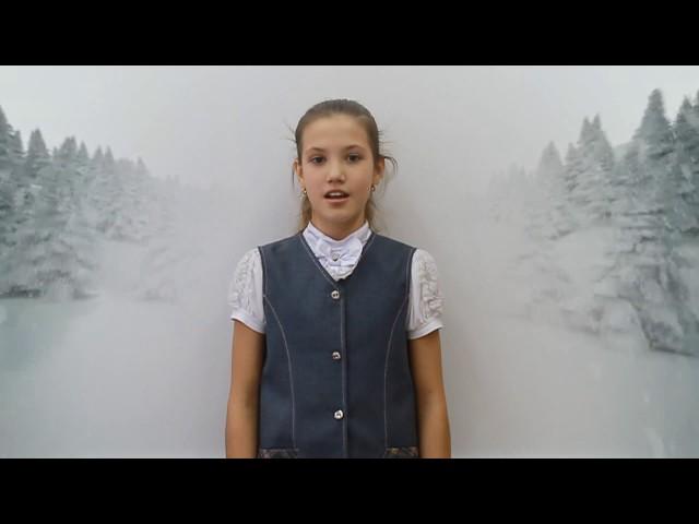 Изображение предпросмотра прочтения – ДарьяКузовникова читает произведение «Первый снег (Серебро, огонь и блёстки…)» В.Я.Брюсова