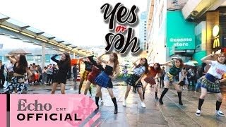 """Download Video [KPOP in RAINY Public Challenge] TWICE (트와이스) -  """"YES or YES"""" Dance cover by EchoDanceHK MP3 3GP MP4"""