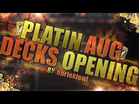 Platin AUG A3 deck opening| PIRATE SKIN| Zula Europe | Weekly Opening #13