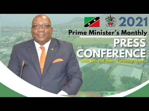 Download Monthly Press Conference | Prime Minister Dr. Hon. Timothy Harris - September 28, 2021