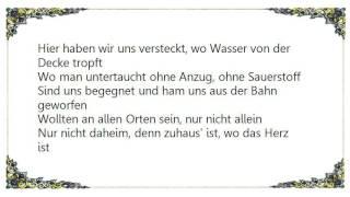 Curse - Herz zurück Lyrics