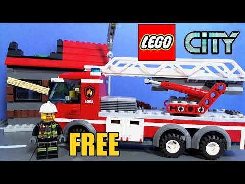 lego city magazine with free firefighter youtube. Black Bedroom Furniture Sets. Home Design Ideas