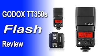 Godox TT350 TTL Speedlite Flash with X1t Trigger Review for Sony