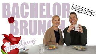 Bachelor Brunch - Hometowns Ep. Lauren dishes on the VB date and Arie on why Peter kept Victoria F.