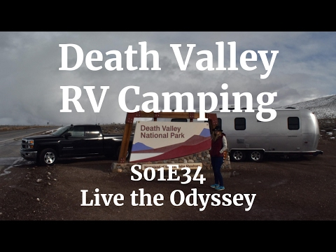 RV Camping at Death Valley National Park - S01E34 Live the Odyssey
