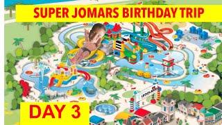 Gambar cover DOWN THE SLIDE!!!! LEGOLAND WATERPARK! Super Jomar's Birthday Trip Day 3!
