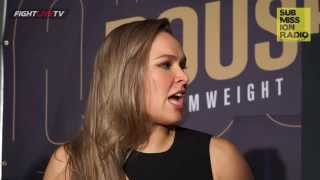 "Ronda Rousey clears up ""domestic abuse"" accusations from media"