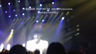 130905 INFINITE OGS Fukuoka L 「 Everybody , I love you 」 (with...)