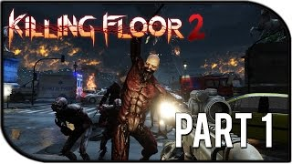 "Killing Floor 2 Gameplay Part 1 - ""Commando Time!"" (Biotics Lab Survival Gameplay)"