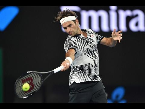 Roger Federer - Best Points Australian Open 2017