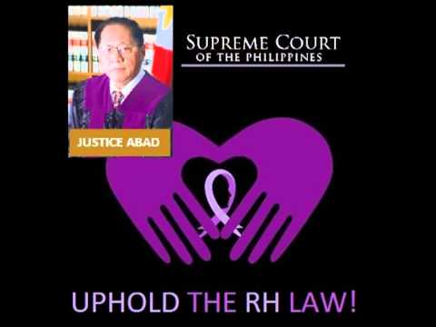 RH Law: August 06, 2013 Oral Arguments, Supreme Court of the Philippines