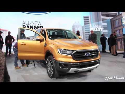 2019 Ford Ranger Close-Up Look! 2018 NAIAS