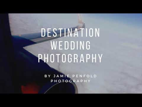 Introducing a New Destination Wedding Photography Service from Jamie Penfold Photography