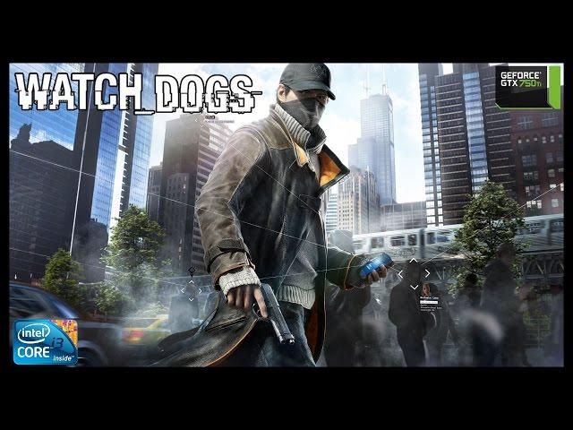 Watch Dogs - i3 3250 + gtx 750ti