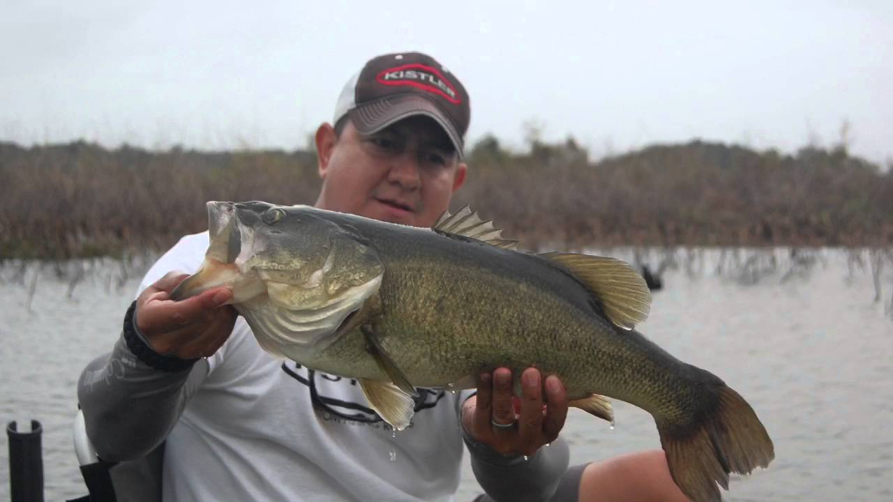 lake conroe kayak bass fishing with kistler rods youtube