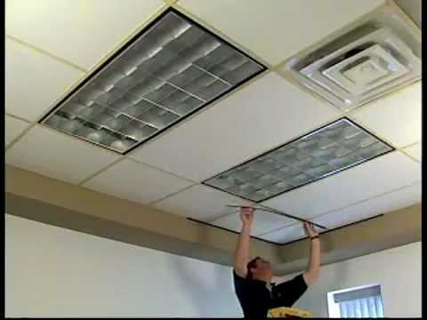 gridmax ceiling grid covers installation youtube. Black Bedroom Furniture Sets. Home Design Ideas