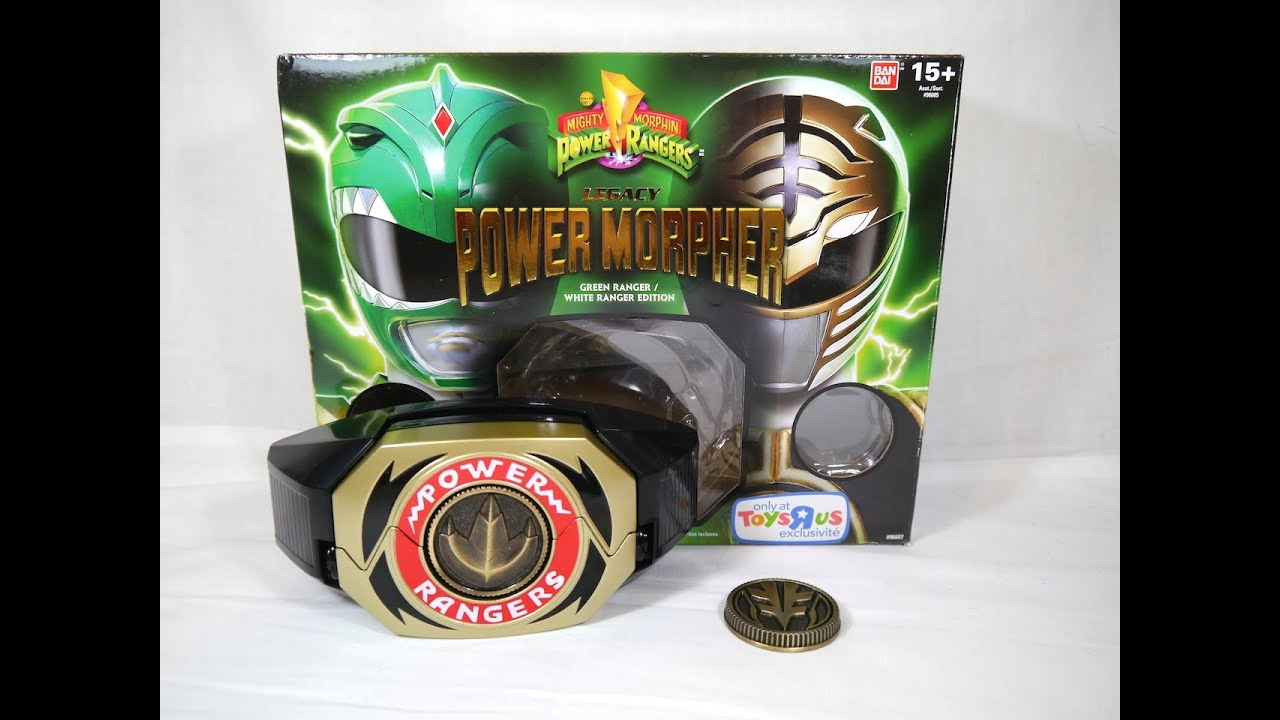 how to make power rangers morpher with paper