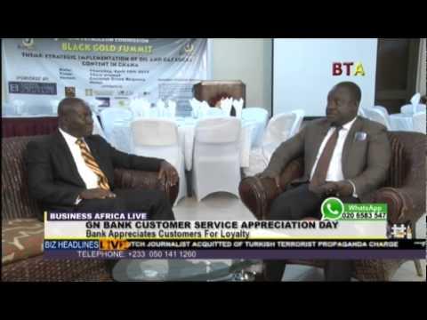 Mr  Kofi Fosu For Gn Bank Customer Service Appreciation Day On Business Africa Live 1