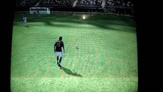 Fifa Soccer 09 de ps3 gol de falta